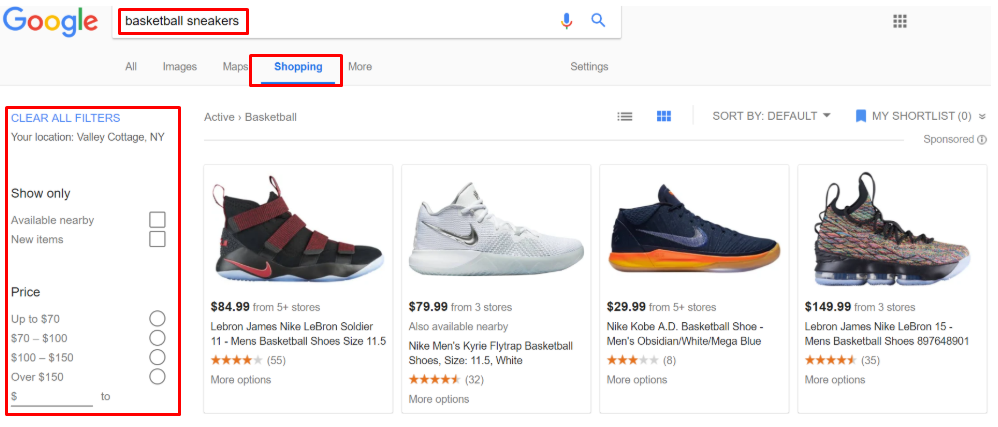 google shopping ads for ecommerce
