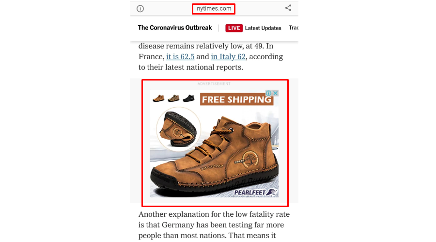 display ads for ecommerce