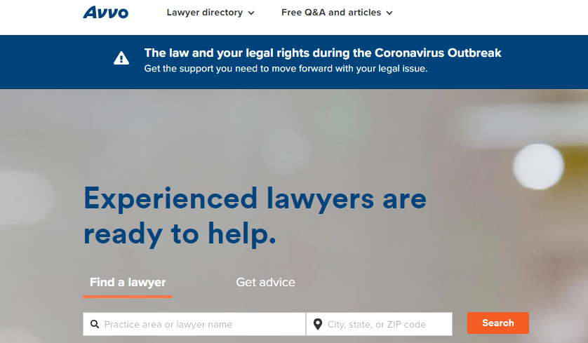 avvo for law firm seo