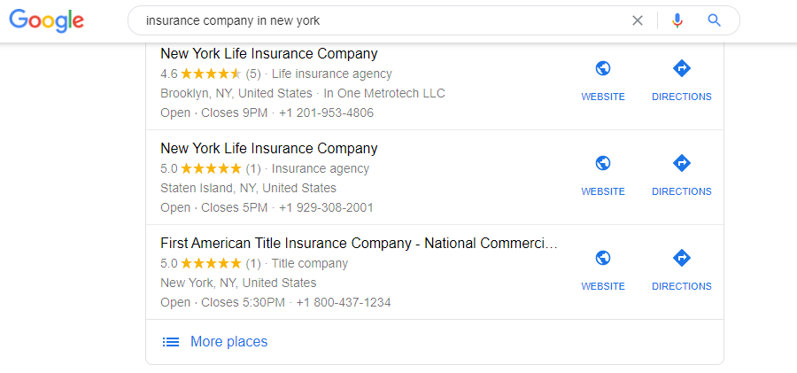 get reviews to boost seo for insurance companies